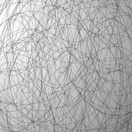squiggly: Grayscale abstract vector texture with intersecting lines.