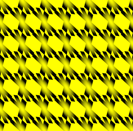 repeatable: Seamlessly repeatable pattern with cross shapes. editable vector. Vettoriali