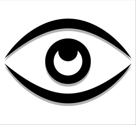 Eye graphic. Vision, seeing, sight, observation. Vector. Stock Vector - 47313789