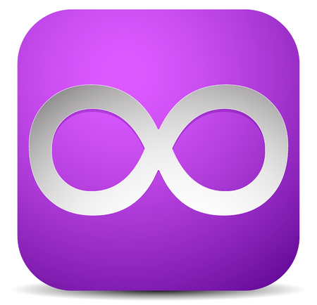 continuity: Infinity symbol. Eeverlasting, infinite or cycle, continuity themes.