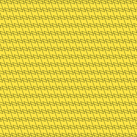 interlacing: Black  yellow background with interlacing lines, abstract pattern