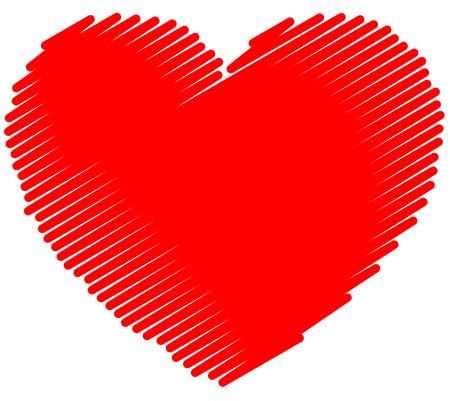 garabatos: Incompletos Individual, garabato, coraz�n del garabato. gr�fico vectorial.