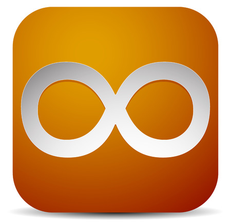 folytonosság: Infinity symbol. Eeverlasting, infinite or cycle, continuity themes.