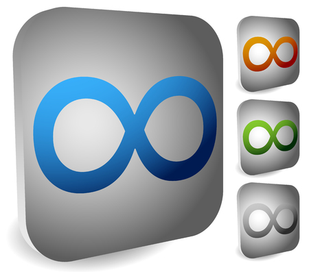 everlasting: Infinity symbol. Eeverlasting, infinite or cycle, continuity themes.