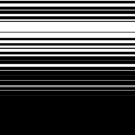 banded: Straight lines with random thickness. (Horizontally repeatable) Illustration