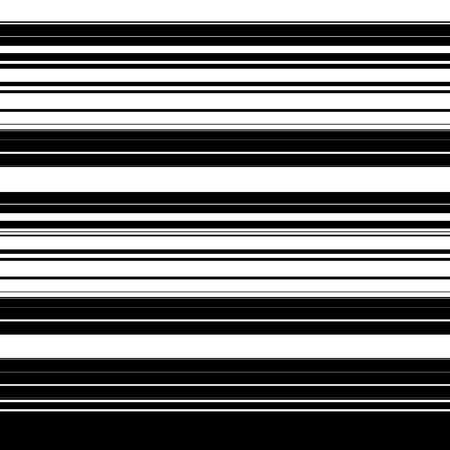 band bar: Straight lines with random thickness. (Horizontally repeatable) Illustration