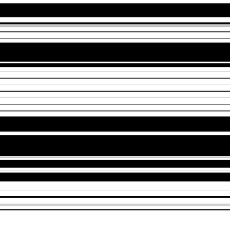 the banded: Straight lines with random thickness. (Horizontally repeatable) Illustration