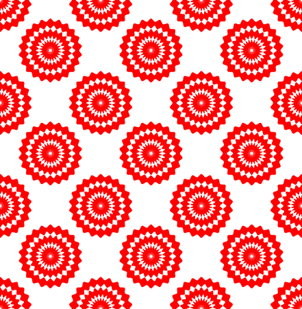 repeatable: Embroidery swatch background. Abstract flower shapes repeatable pattern.
