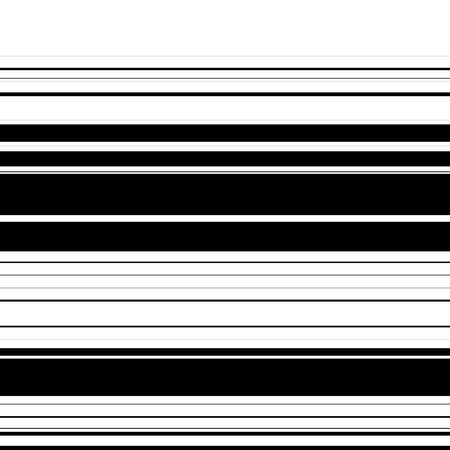 striped band: Straight lines with random thickness. (Horizontally repeatable) Illustration