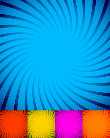 twisting: Spiral, twisting background, pattern in square format. Illustration