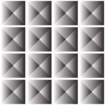 revetment: Abstract studded background  repeatable pattern. vector. Illustration