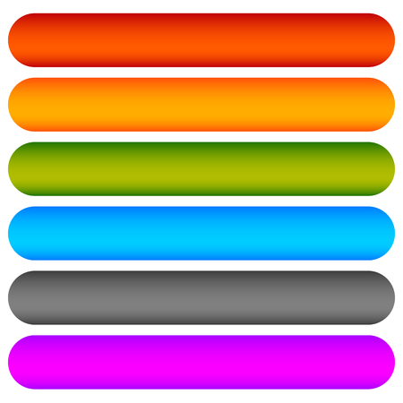 Colored rounded button, banner backgrounds. Vector graphics. Illustration