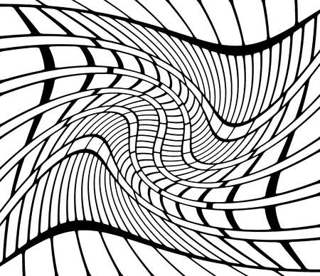 distort: Abstract background with swirling, spirally effect. vector. Illustration