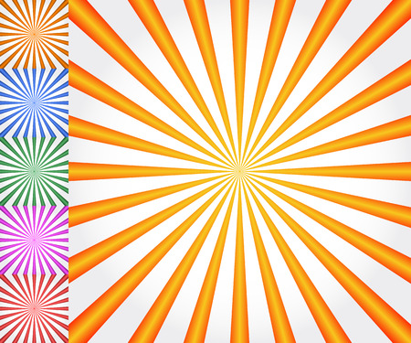 radiating: Starburst, sunburst background. Radiating, converging lines vector.