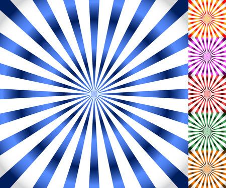 Starburst, zonnestraal achtergrond. Uitstralen, convergerende lijnen vector.