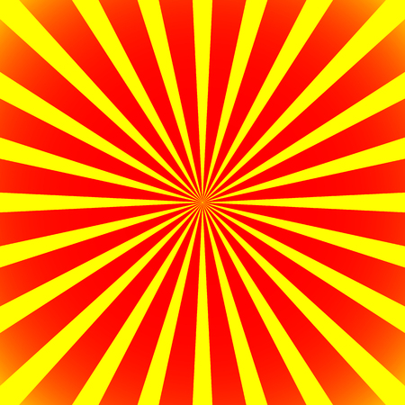 lightbeam: Starburst, sunburst background. Radiating, converging lines vector.