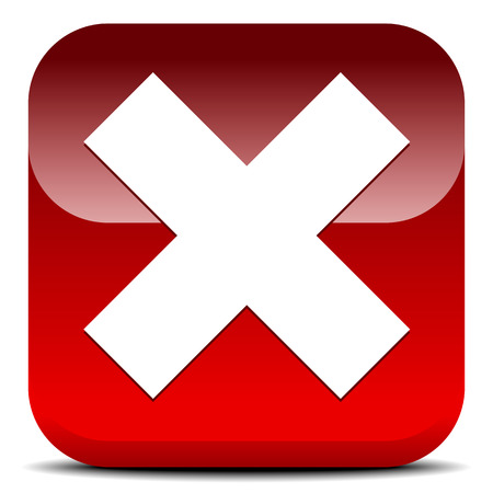 exclude: X shape, letter. Delete, remove button, icon.