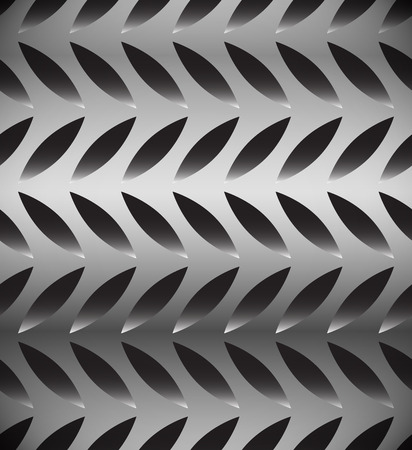 fibra: Abstract perforated, carbon fiber background, pattern. Repeatable. Vettoriali