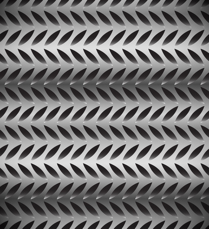 punched: Abstract perforated, carbon fiber background, pattern. Repeatable. Illustration