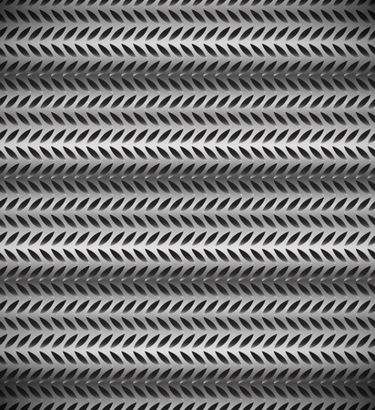 gaps: Abstract perforated, carbon fiber background, pattern. Repeatable. Illustration