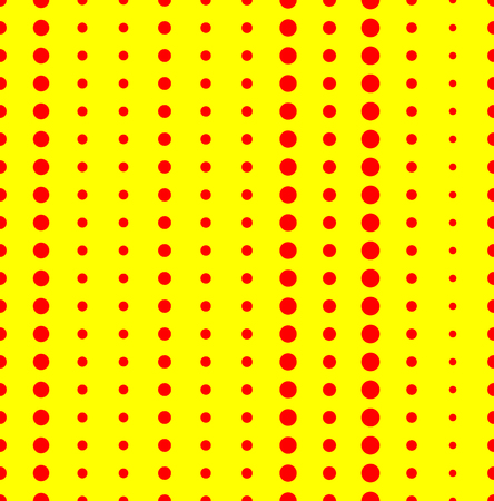 duotone: Duotone, red, yellow pop art, polka dot, dotted pattern.