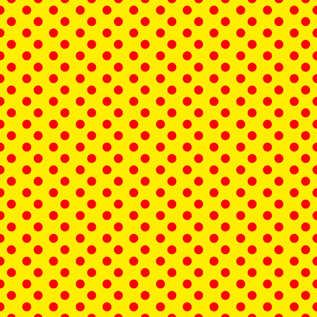 duotone: Duotone, red, yellow pop art, polka dot, dotted pattern.