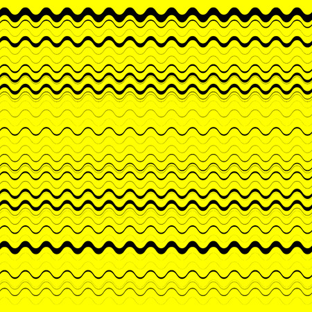 abstractionism: Zig zag, edgy horizontal lines texture. Vector image.