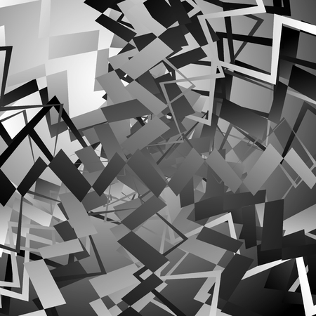 shards: Abstract artistic edgy pattern, background with randomly scattered, pointed, angular shapes