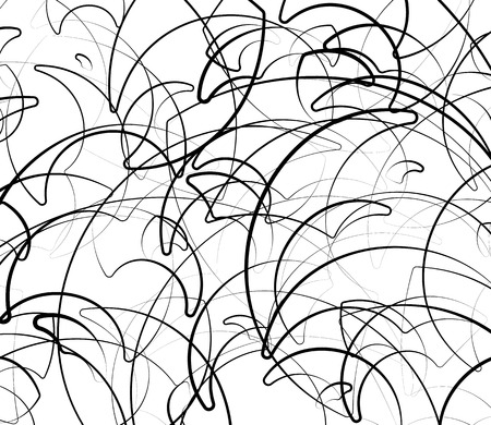sinuous: Abstract background with sinuous, curvy lines. Vector art.