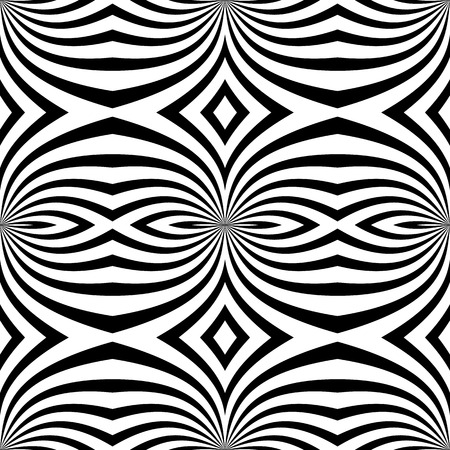 seamlessly: Abstract monochrome vector pattern  background. Seamlessly repeatable. Illustration