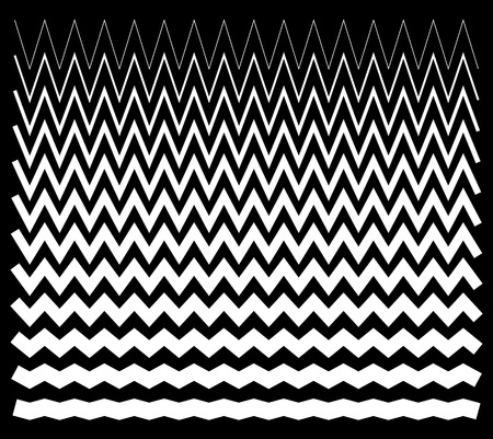 jagged: Edgy, pointed zig zag lines, jagged lines.