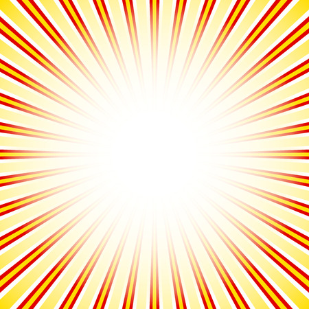 radiating: Starburst, sunburst background. Converging, radial, radiating lines. Vectores