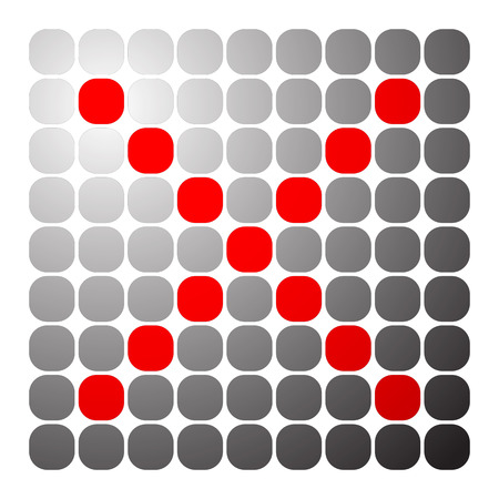 rejection: Red cross, x shape, x letter for restriction, remove, delete themes.