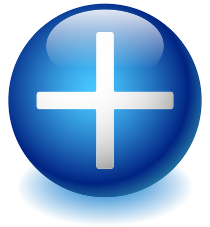 healthcare: White cross over background for healthcare concepts