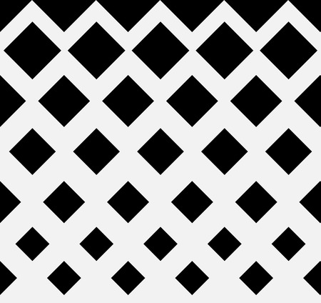 repeatable: Seamless halftone pattern with squares. Repeatable. Vector art.