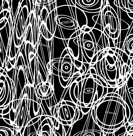 sinuous: Abstract vector image with squiggly, squiggle lines