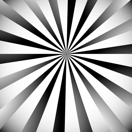 radiating: Radial, radiating lines. Grayscale starburst, sunburst backdrop.