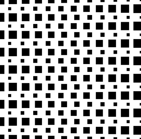monocrome: Pattern, background with monochrome squares. Vector art.