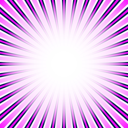 radiating: Starburst, sunburst background. Converging, radial, radiating lines. Vectores