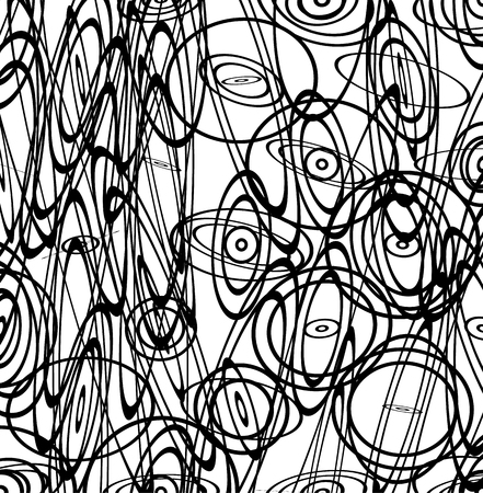 squiggly: Abstract vector image with squiggly, squiggle lines