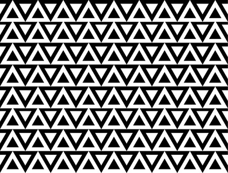 pointed: Seamless edgy pattern with pointed, triangle shapes. Vector art.