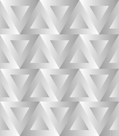 alternating: Seamless pattern with alternating triangles. Vector art.