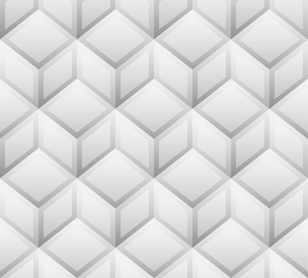repeatable: 3d cubes seamless, repeatable pattern. Vector art. Vettoriali