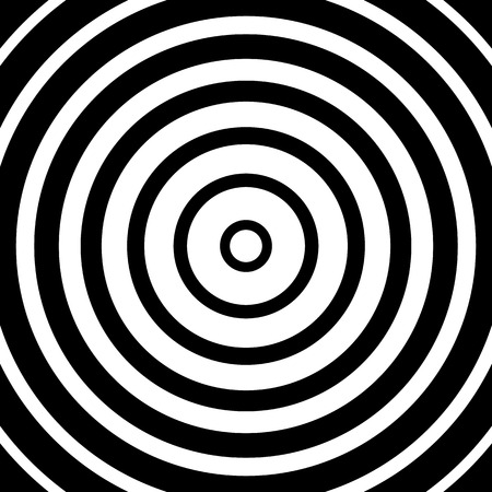 monocrome: Abstract monochrome graphic with circular, circle pattern.