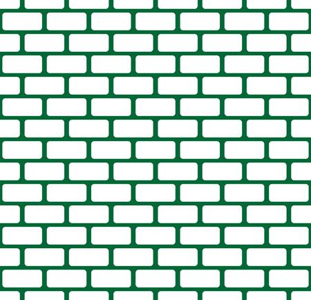 Bakstenen muur, stenen muur naadloze vector patroon