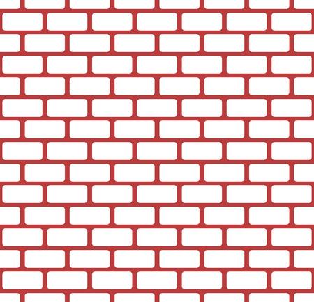 masonary: Brick wall, stone wall seamless vector pattern