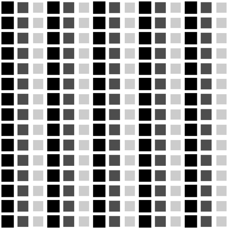 fading: Abstract pattern with fading squares. Repeatable, tileable. Illustration