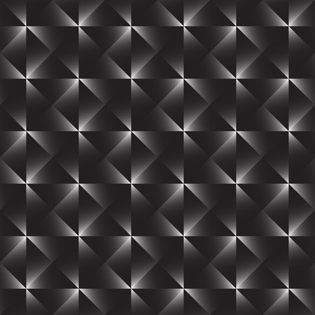 cell block: Tile of a repeatable pattern with squares. Illustration