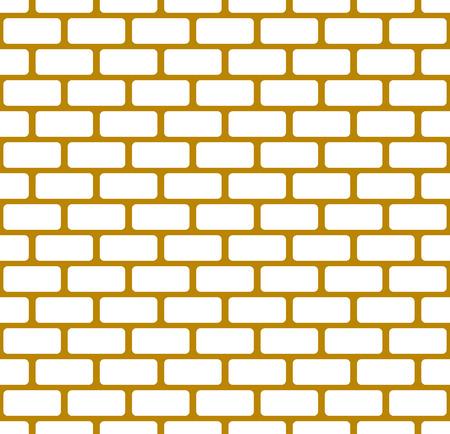 bricklaying: Brick wall, stone wall seamless vector pattern