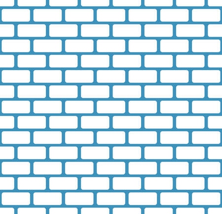 masonary: Brick wall, stone wall seamless vector pattern